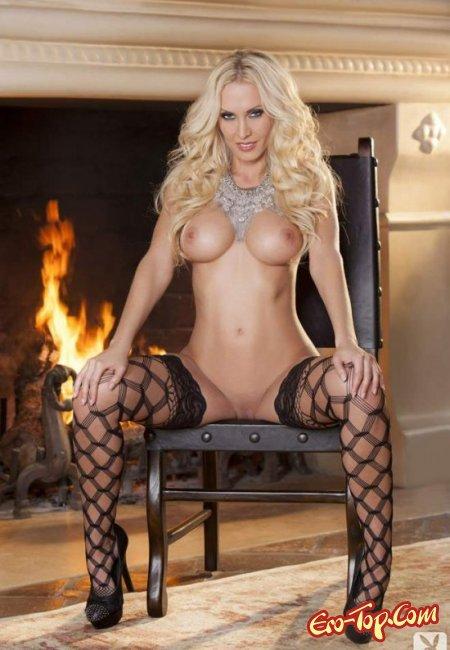 Блондинка с большой попой и грудью. Фото голых блондинок